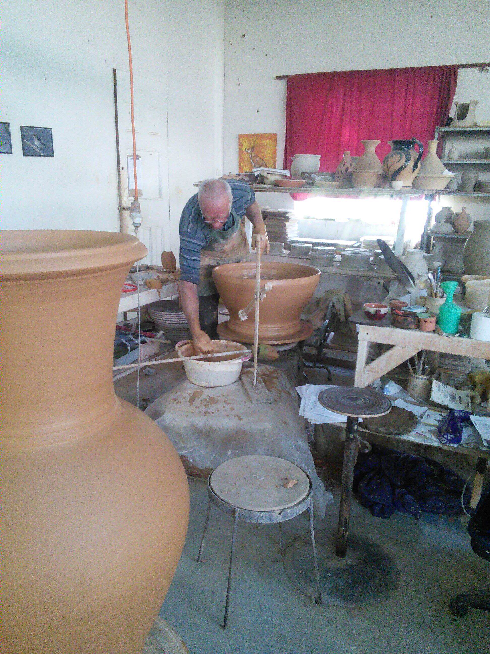 workshop pottery